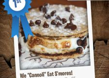 "We ""Cannoli"" Eat S'mores! This clever creation by Kelly in Unionville, CT, took first place in our Non-Traditional S'more recipe contest. Try it for yourself!"
