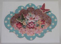 """Secret Garden"" Card by Carol Theng"