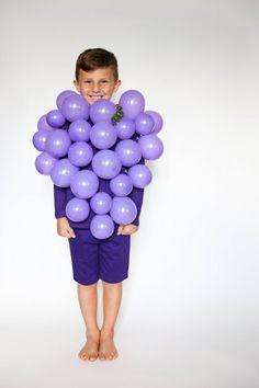 DIY Grape costume