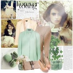 """Hoping For The Best, But Expecting The Worst - Lily Collins"" by laurencorrine97 on Polyvore"