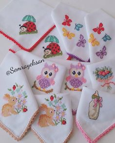 Bebek mendillerinin g zelli ine bakarm s n z k zlar Ekran sola do ru kayd r n semrayeksan e Survival Blanket, Work Gloves, Linen Napkins, Potpourri, Mini, Diy And Crafts, Pretty, Baby Going Home Outfit, Baby Knits