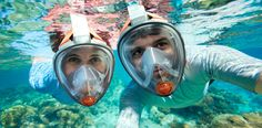 Snorkeling Made Simple with the ARIA Full-Face Mask • Scuba Diver LifeScuba Diver Life