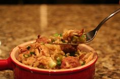 Yambalaya... Southern comfort food.... so yummy!