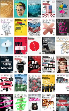 Bloomberg Businessweek. Along with the completely captivating and, often times, controversial cover designs, I enjoy the great writing and amazing infographics within Bloomberg.