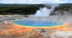 Le Grand Prismatic de Yellowstone © Wikimédia / Frank Kovalchek
