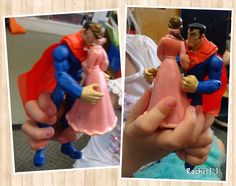 """Superman saves the day - from Rachel ("""",)"""