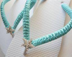 diy wedding flip flops - Google Search