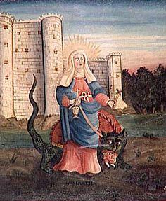 Sainte Marthe et la Tarasque