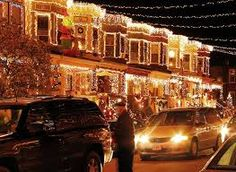 It's Christmas in July! According to Yahoo! Travel, Baltimore ranks as the best city to see the holiday lights. Just another reason why BALTIMORE is a great place to live! Best Christmas Lights, Christmas Light Displays, Xmas Lights, Decorating With Christmas Lights, Holiday Lights, Christmas Holidays, Christmas Decorations, Christmas Design, Holiday Fun