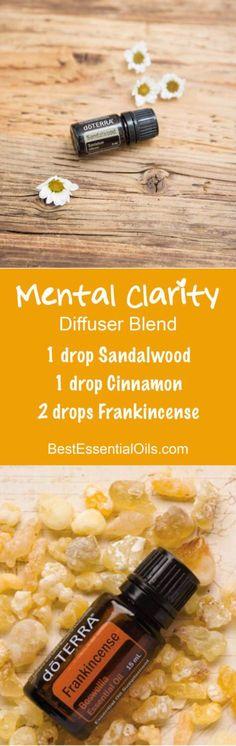 Mental Clarity doTERRA Diffuser Blend