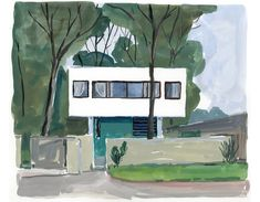 Alfavino blog 94 villa saboyita le corbusier for Jardinero en casa