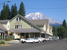 View of Mt. Shasta from McCloud, CA