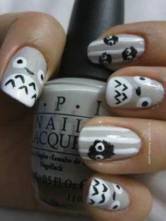 (69) totoro nails | Tumblr