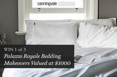 WIN a 1000TC Palazzo Royale Bed Makeover - Canningvale