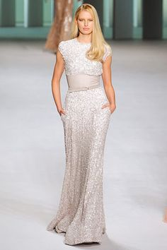 Elie Saab, Spring 2011 Wish I had this for any black tie events!! Amazing and modest, hard to come by!