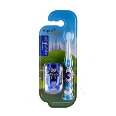 aquawhite Aquaville toothbrush with its ultra-soft bristles keeps the teeth and the gums healthy thereby ensuring good oral care