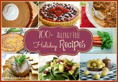 """Take a look at the 100+ """"Allergy Free Holiday Recipes"""" roundup from Gutsy. You will be inspired and delighted by these yummy creations. Enjoy!"""