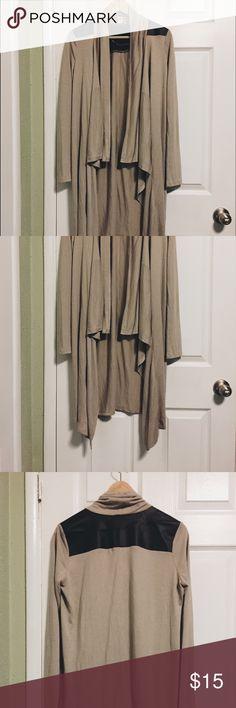 Tan cover up Shawl Kimono Top Brand new. Tops