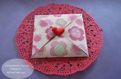 Secret Paper Valentine