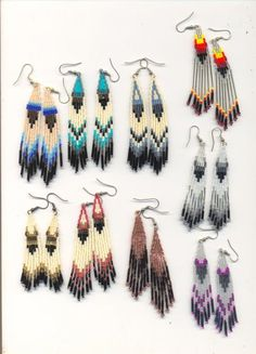 Boho Earrings | Bohemian Jewelry...love this style...something I would ROCK! ;)