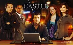 Castle - Nathan Fillion, Stana Kadic, Molly Quin