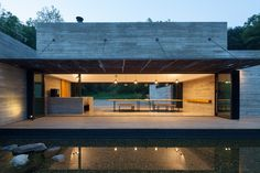 Image 18 of 34 from gallery of Korean Dandelion Farm / Archihood WXY. Photograph by Woohyun Kang Minimal Architecture, Residential Architecture, Architecture Design, Farm Pictures, Prefab, South Korea, Layout Design, Service Design, Villa