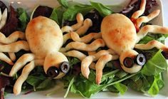 Jo and Sue: Spooky Stuffed Spider Buns