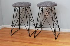 Eames-Mid Century Kitchen Counter Barstool by RetroEvolutionDesign
