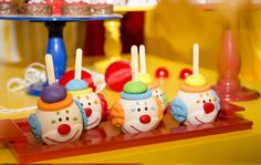 Carnival Themed Party, Carnival Birthday Parties, Circus Birthday, Safari Party, Circus Party, Birthday Party Themes, Birthday Cake, Clown Cake, Clown Party