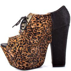 Medford Leopard Leather Michael Antonio Studio