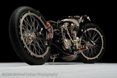 The Nickel Bike by Cooks Custom Choppers Milwaukee Wisconsin