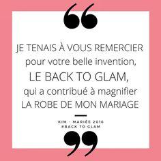 """Félicitations et merci à Kim !""""Je tenais à vous remercier pour votre belle invention le Back to Glam, qui a contribué à magnifier la robe de mon mariage."""" •#backtoglam #dosnu #glamendosnu #soutiengorge #invisible #bra #invisiblebra #merci #thanks #paris #wedding #lingerie #fashion #glamour #glamgirl #robedosnu #partydress #backlessbra #bridetobe #realbride#weddingdress #bridalgown#robedemarieesurmesure#beautiful #weddingfashion #mariage #robedemariée Magnifier, Thanks, Glamour, Lingerie, Instagram, Beautiful, Backless Wedding Dresses, Underwear, The Shining"""