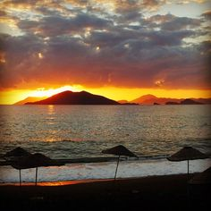 #Calis beach is one of the best places for amazing sunsets