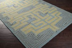 Labrinth Designed by Julie Cohn and Merle Lindby Young Dining Table Rug, Rugs Usa, Contemporary Rugs, Indoor Outdoor Rugs, Accent Furniture, Shag Rug, Home Accessories, Area Rugs, Wall Decor