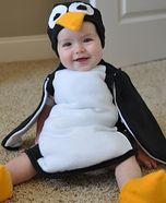 Homemade Penguin Costume for Babies