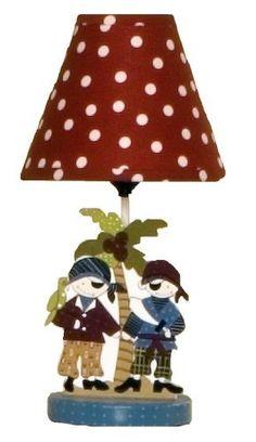 Cotton Tale Designs Pirates Cove Decorator Lamp