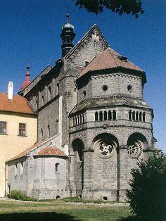 Česko, Třebíč - Bazilika sv.Prokopa