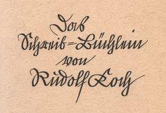 Offenbacher Script, Rudolf Koch