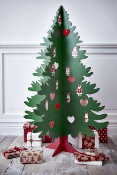 artesania con arbol de navidad