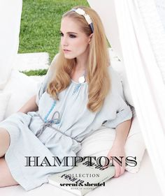 Headband by Sereni & Shentel 2012 Hamptons Collection - Lolita. Made in Borneo.