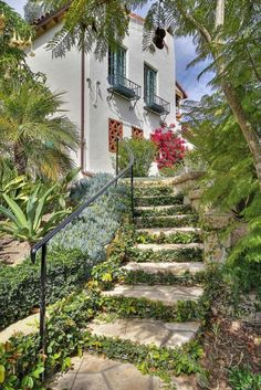 Circa 1928, California Spanish Revival designed by Architects Soule, Murphy & Hastings, Hope Ranch, California.