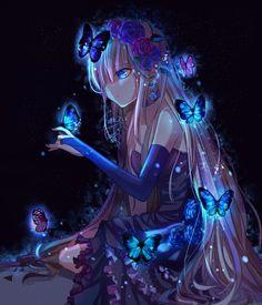 Beautiful Blue Cherenkov Light! - pixiv Spotlight