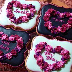 #tbt #valentines #valentine #cookies #cookieart