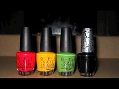 Reggae/ Rasta Nails Shattered