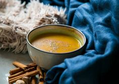 Sütőtök krémleves (tejmentes, laktózmentes, vegetáriánus) | Nagyné Himes Renáta receptje - Cookpad receptek Fondue, Cheese, Ethnic Recipes