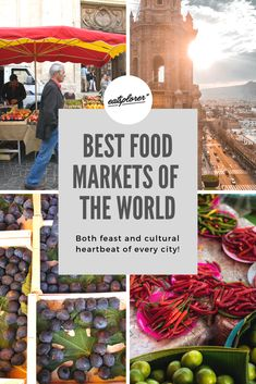 Best Food Markets of the world: both feast and cultural heartbeat of every city - Eatsplorer Magazine St Lawrence Market, Queen Victoria Market, Organic Market, Fish And Meat, Spain Travel, In A Heartbeat, Fresh Fruit, Street Food, A Food