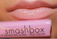 love smashbox - it is pout!  A way to get this look if your lips are more berry than nude....  a light concealer to fade out your lip color before applying light shades. Liquid concealer in small dots......then blend. NYX has a great lip pencil called flower that would be amazing with this.