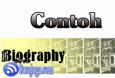 Contoh Biografi Tokoh Dunia