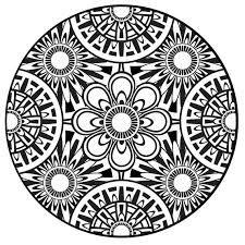 Afbeeldingsresultaat voor mandala coloring pages