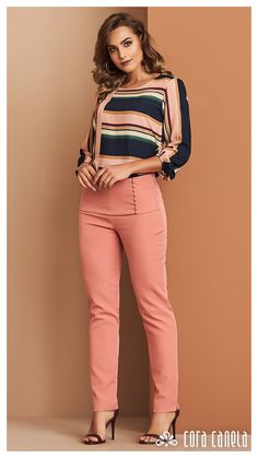 New sewing clothes pants simple ideas Stylish Work Outfits, Casual Outfits, Cute Outfits, Fashion Outfits, Womens Fashion, Fashion Trends, Dress Fashion, Casual Chic, Casual Wear
